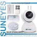 SunEyes SP-S702WA-DRPS 720P HD Pan/Tilt Wifi PT IP Camera AlarmKit with Door Sensor Remote Control PIR Sensor Smoke Sensor