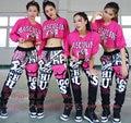 2016 Nova Marca de moda de rua skate Moletom Trajes femininos desgaste desempenho calças Harem Hip Hop Dance Calças