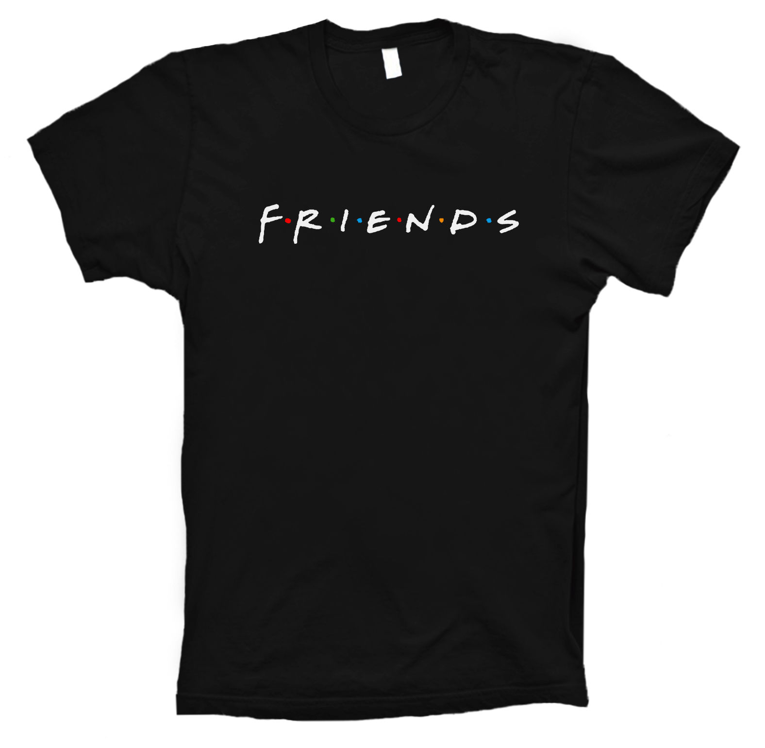 Friends T Shirt Inspired 90S Tv Show Sitcom New Sizes For Men 100% Cotton Print Mens Summer O Neck New 2017 Fashion Hot T Shirt image
