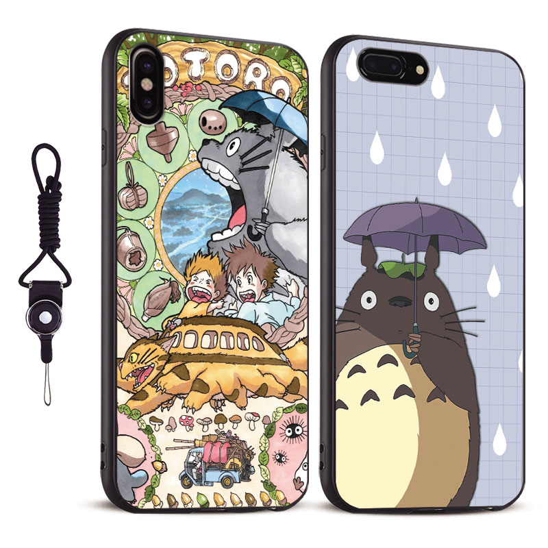 coque iphone 4 totoro silicon