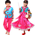 Venda quente Coréia Hanbok Tradicional Hanbok Meninas Dos Miúdos das Crianças Traje Vestido Hanbok Coreano Clássico Trajes de Dança para Meninas