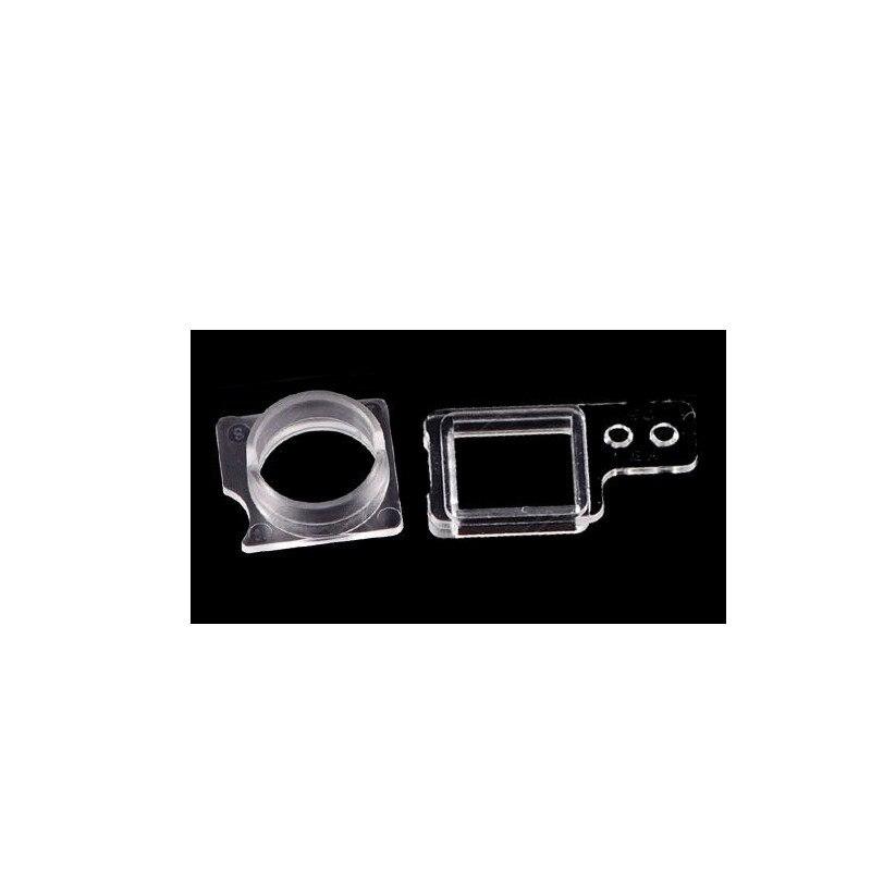 5set/lot Hot For iPhone 7 7 Plus 8 8 Plus X 10 Ten Light Sensor + Front Camera Plastic Cap Holder Lens Ring Bracket Repair Parts