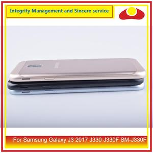 Image 4 - Original For Samsung Galaxy J3 2017 J330 J330F SM J330F Housing Battery Door Rear Back Cover Case Chassis Shell J330 Replacement