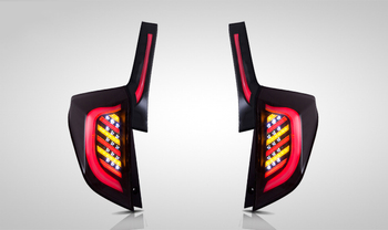 2014-up V1 LED Tail lights for Honda FIT JAZZ Car Lights Assembly Ensure quality and fitment Brake lights