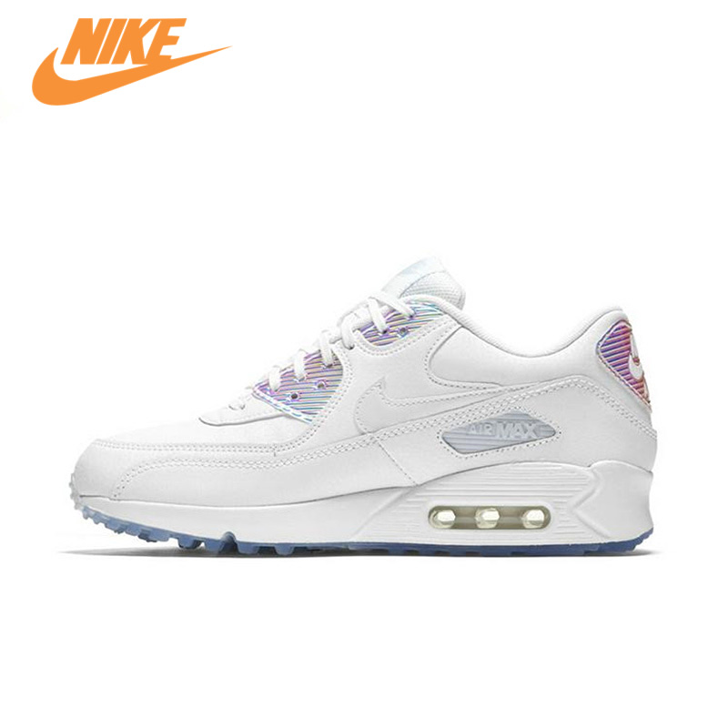 Authentic New Arrival AIR MAX 90 PREMIUM Nike Running Shoes Women Sports Sneakers Trainers nike original 2017 summer new arrival air max 90 women s running shoes sneakers