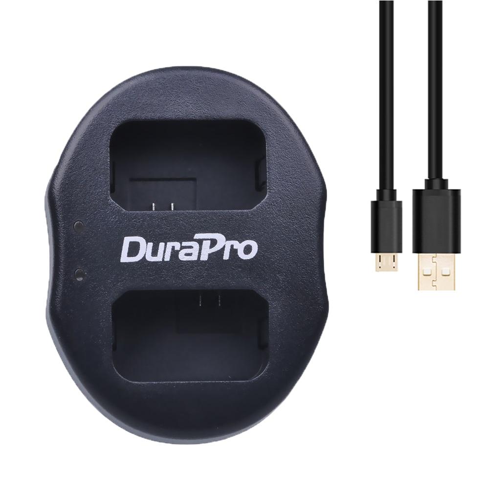 Durapro NP-FW50 FW50 NPFW50 canal dual USB cargador de batería para Sony NEX-3 NEX-5 NEX-6 nuevo envío libre