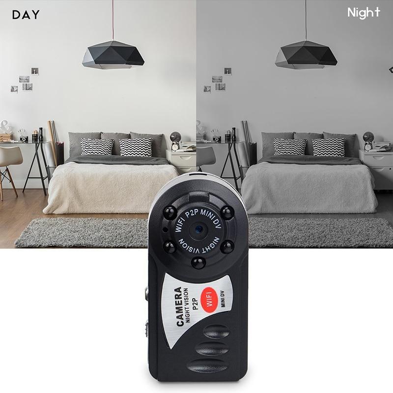 Q7 Mini Wifi DVR Wireless IP Camcorder Video Player Kamera Infrarot-nachtsicht Kamera Bewegungserkennung Eingebaute Mikrofon