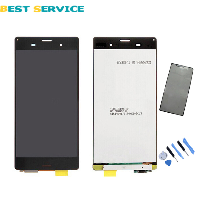 Black White For Sony Xperia Z3 D6603 D6653 L55t LCD Display with Touch Screen Digitizer Assembly +Tools +Adhesive Free shipping