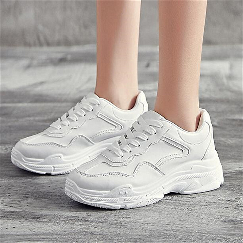 Mhysa 2019 New spring and autumn fashion wild casual shoes comfortable breathable thick bottom ladies shoes sports shoes C0026Mhysa 2019 New spring and autumn fashion wild casual shoes comfortable breathable thick bottom ladies shoes sports shoes C0026