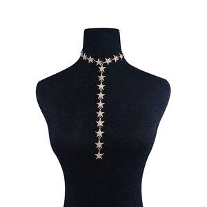 Trendy Crystal Stars Pendant C