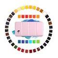 Paul Rubens  48 цветов  профессиональная однотонная Акварельная краска с железной коробкой  яркий цвет  портативная  сделанная с резиной  арабский...