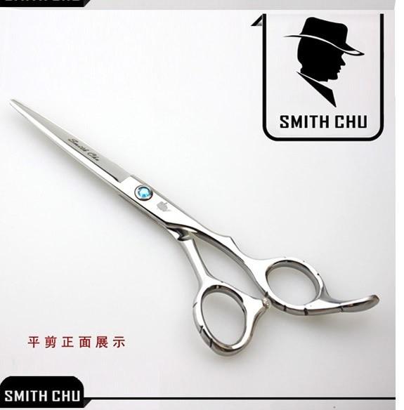 "6.0"" Hairdressing Barber Professional Cutting Scissors Hair Shears Smith Chu Japan 440c Salon Hair Thinning Scissors LZS0007"