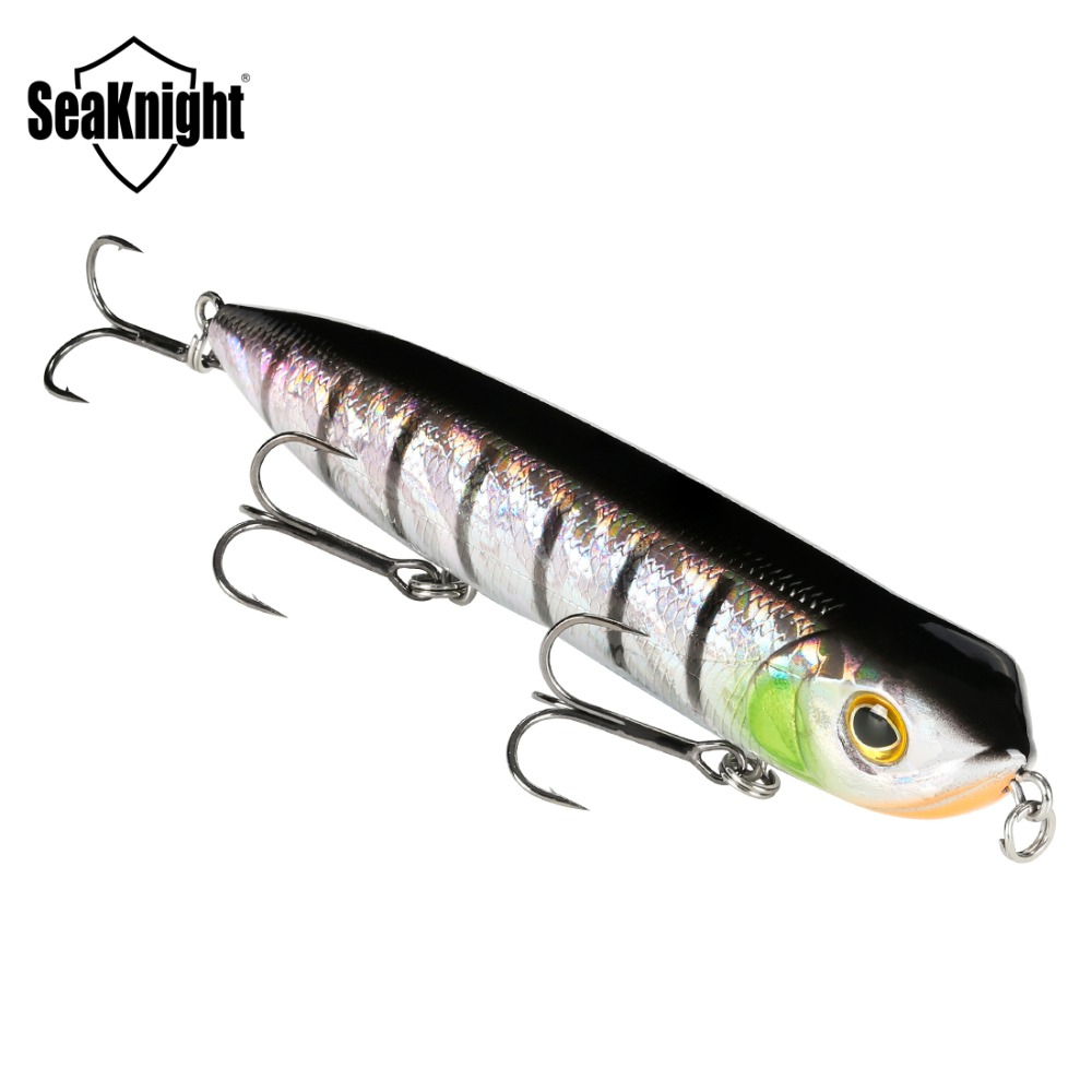 SeaKnight SK026 Floating Pencil 1PC 26g 128mm Topwater Pencil Fishing Lure Z Line Swimming Hard Bait Carp Fishing Saltwater Bait
