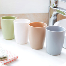 Eco-friendly  Bathroom Sets Fresh and Simple Thick Circular Cups