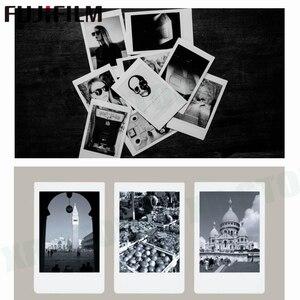 Image 2 - Fujifilm Instax Mini 11 8 9 Film MONO krom Fuji anında fotoğraf kağıdı 10 adet için 70 7s 50s 50i 90 25 payı SP 1 2 kamera