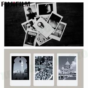 Image 2 - Fujifilm instax mini 11 8 9 filme mono chrome fuji instantânea foto papel 10 folhas para 70 7s 50s 50i 90 25 share SP 1 2 câmera