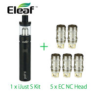 Original Eleaf IJust S Electronic Cigarette Kit 3000mah Battery With 5pcs Eleaf EC NC Coil Ijusts
