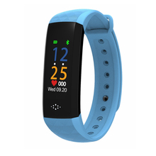 blood pressure monitor color Smart Wristband Bracelet Fitness Tracker Blood Pressure Pedometer Smart Band Watch pk mi 3 band цена 2017