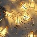 Металлическая гирлянда с бриллиантами  светодиодная гирлянда на батарейках  Рождественская вечеринка  украшение для сада  дома  светодиодн...