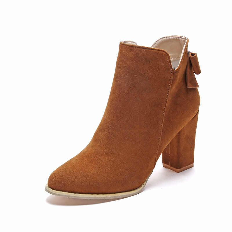 Botas Mujer Moda Kadın Çizmeler Kare Topuk Platformları Zapatos Mujer PU Deri Uyluk Yüksek Pompa Botları Motosiklet Ayakkabı Sıcak Satış