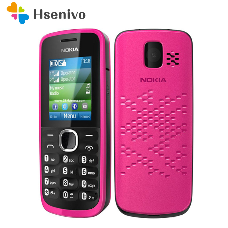 110 Original Nokia 110 FM Radio unlocked original dual sim card Good Quality Mobile Phone one