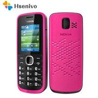 110 Original Nokia 110 FM Radio unlocked original dual sim card Good Quality Mobile Phone one year warranty refurbished