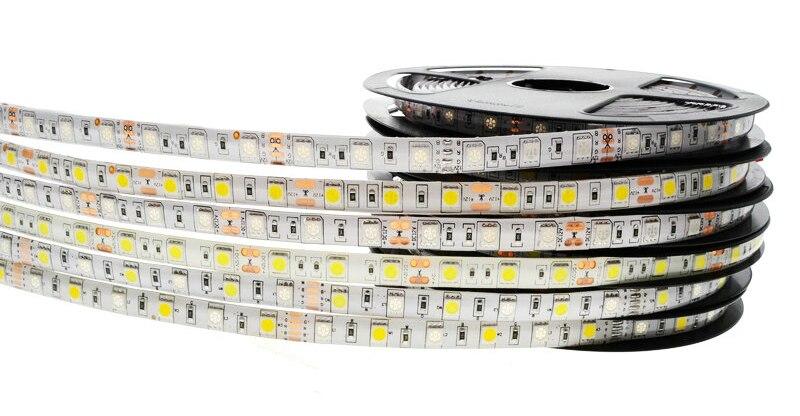 5050 LED лента RGB 300 LED 5050 12V гъвкава - LED осветление - Снимка 2