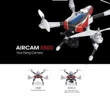 Profesional GPS rc drone X500 X500A 2.4G Dengan GPS HD kamera RC quadcopter GPS RTF Otomatis kembali ke rumah tanpa kepala modus rc mainan