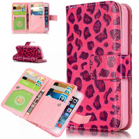 For IPhone 5c Case Fashion Flip Wallet Leather Case For Apple IPhone 5c Stand Printed Magnetic