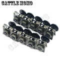 10 pcs CNC Alumínio Corpo Sportbike Carenagem Bolts Fastener Clipes Screw Set Motor Parafusos M6 6 MM Chip Preto