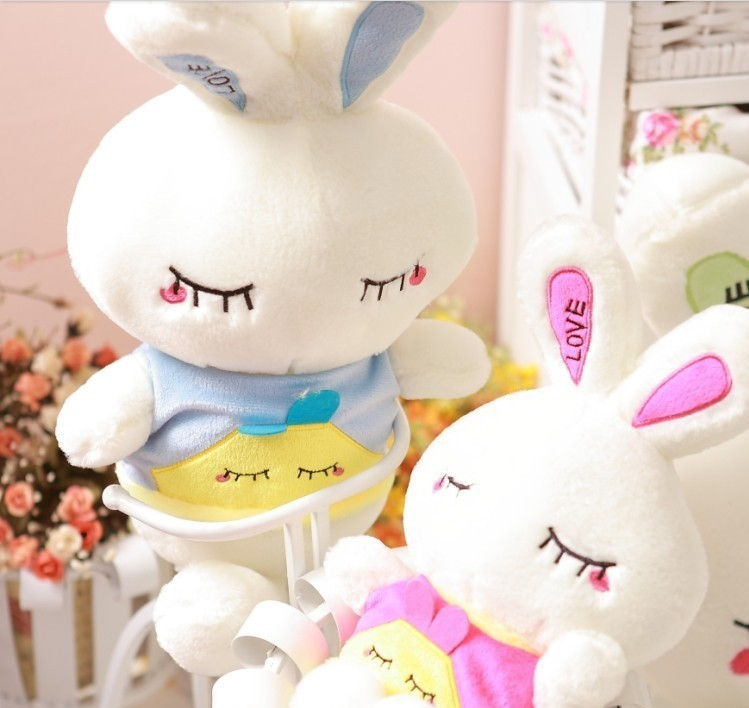 Super!  wholesale 85 cm doll plush toy rabbit LOVE bugs bunny doll birthday present large Christmas gift free shipping fancytrader cute large plush rabbit stuffed cartoon bugs bunny toy big size 170cm 67inches pink red blue great baby gift 1pc