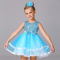 Children Party Baby Princess Dress Girl Fashion Baby Tutu Dress Costume Child Infant Clothing For Summer