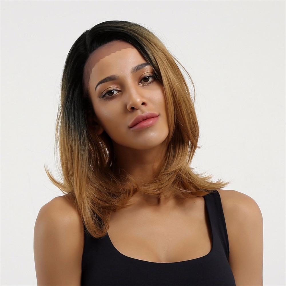 Στοιχείο Ombre Καφέ 1B / 27 # Περούκα 16 - Συνθετικά μαλλιά - Φωτογραφία 1