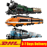 Clone 10233 10194 10219 Lepin The Maersk Train 21005 + 21006 +21007 Set Building Blocks Bricks Toys DHL