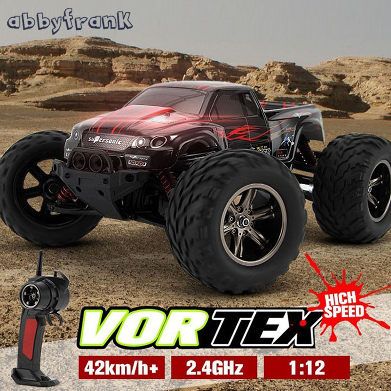 Abbyfrank KF S911 1/12 2WD 42km/h RC Car High Speed Remote Control Off Road Dirt Bike Classic Toys Truck Traxxas Big Wheel GiftAbbyfrank KF S911 1/12 2WD 42km/h RC Car High Speed Remote Control Off Road Dirt Bike Classic Toys Truck Traxxas Big Wheel Gift