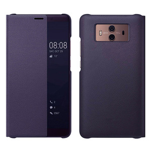 Image 3 - Smart View Flip Cover Leather Phone Case For Huawei Mate 10 Pro Mate10 10pro Mate10pro Luxury Magnetic Case Shockproof 360