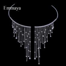 Emmaya Chocker Necklace Jewelry Popular Zircon Romantic Char