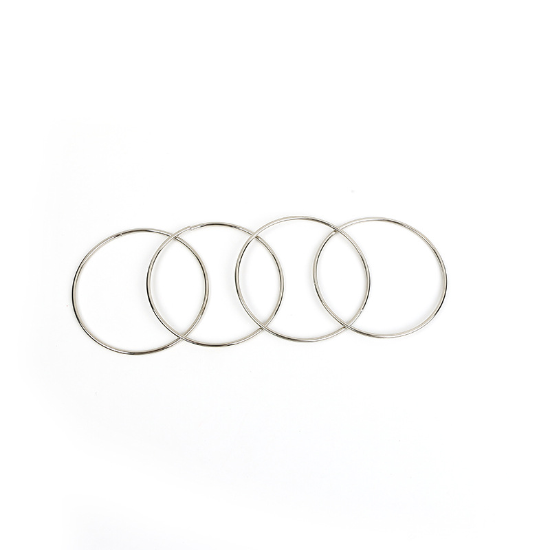 10cm-Four-Chain-Chinese-Ring-Close-Up-Magic-Trick-Props-Close-Up-Magic-Classic-Toys-2