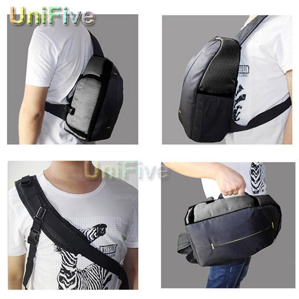 Camera Camera Bags For Dslr Canon aliexpress com buy camara bolsa sling shoulder waterproof video dslr camera bag for nikon canon sony 600d 650d 700d 60d 70