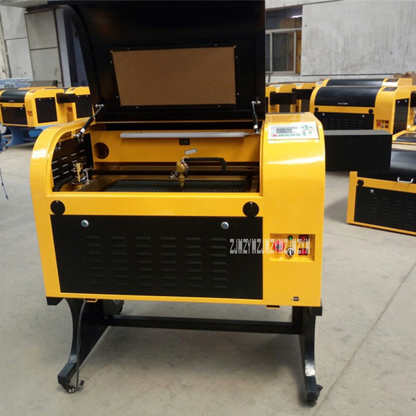 New Hot G-460 Laser Engraving Machine 220V / 110V 60W 400*600mm Laser Cutter Honeycomb Work Table Glass Gourd Cutting Machine hot hot chinese and cost effective laser machine 600x900mm unich stone laser engraving machine