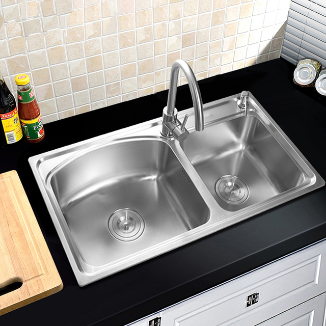 304  stainless steel kitchen sink faucet kitchen accessories 80 43 21cm   82 304  stainless steel kitchen sink faucet kitchen accessories 80 43      rh   aliexpress com
