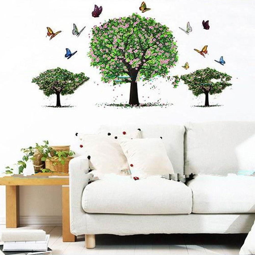 Online Get Cheap Tree Wallpaper Stickers Aliexpresscom Alibaba