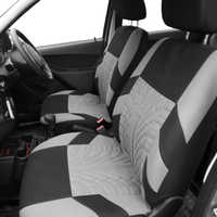 Automobile Seat Covers 9pcs Universal Car Seat Cover Kit Set for Most Cars Seat Protector Car Styling Interior Accessories