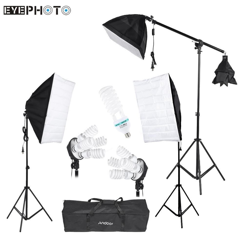 Andoer Photography Studio Portrait Product Light Lighting Tent Kit Photo Video EquipmentChina