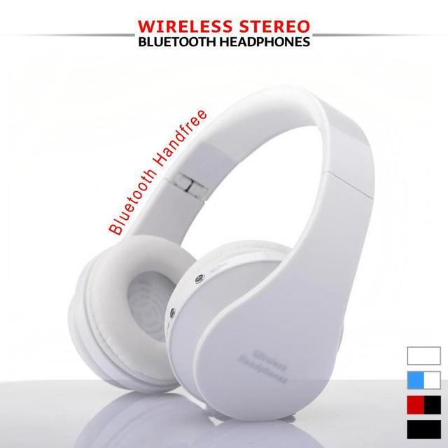 Free Shipping Multicolor wired headphone bluetooth handsfree studio headphones dj  bluetooth headset for iPhone 5s 6 6S plus PC
