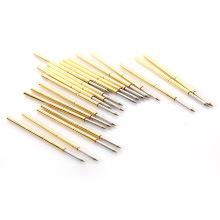 100 PCS P100-B1 Test Probe With Phosphor Brass Tube Spring For Electric Tool Length 33.35m Needle Diameter 0.99mm