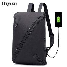 2019 Anti Theft Backpack USB Charge Men Travel Security Waterproof School Bags