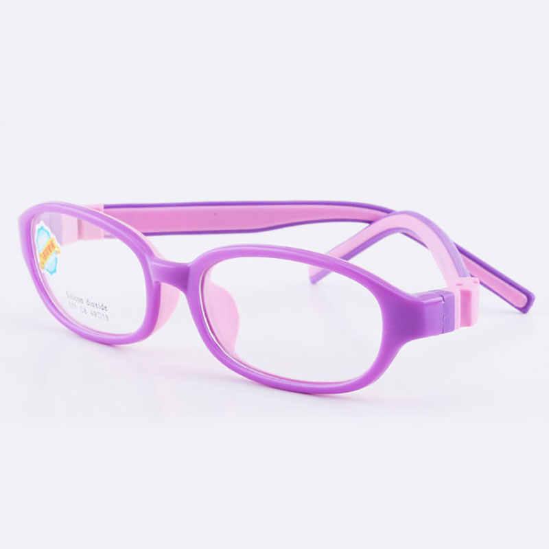 517 Criança Óculos para Meninos e Meninas Crianças Óculos de Armação Flexível Óculos de Qualidade para Proteção e Correção da Visão