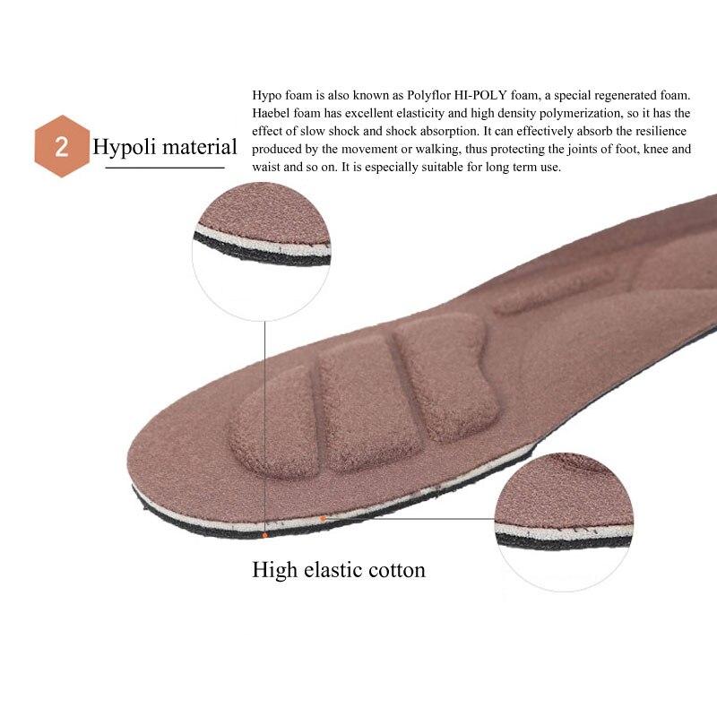 Tcare 1 пара Уход за ногами 4D Спорт губка мягкие стельки для обуви арки Поддержка ортопедические массажные боли, амортизатор комфорта колодки