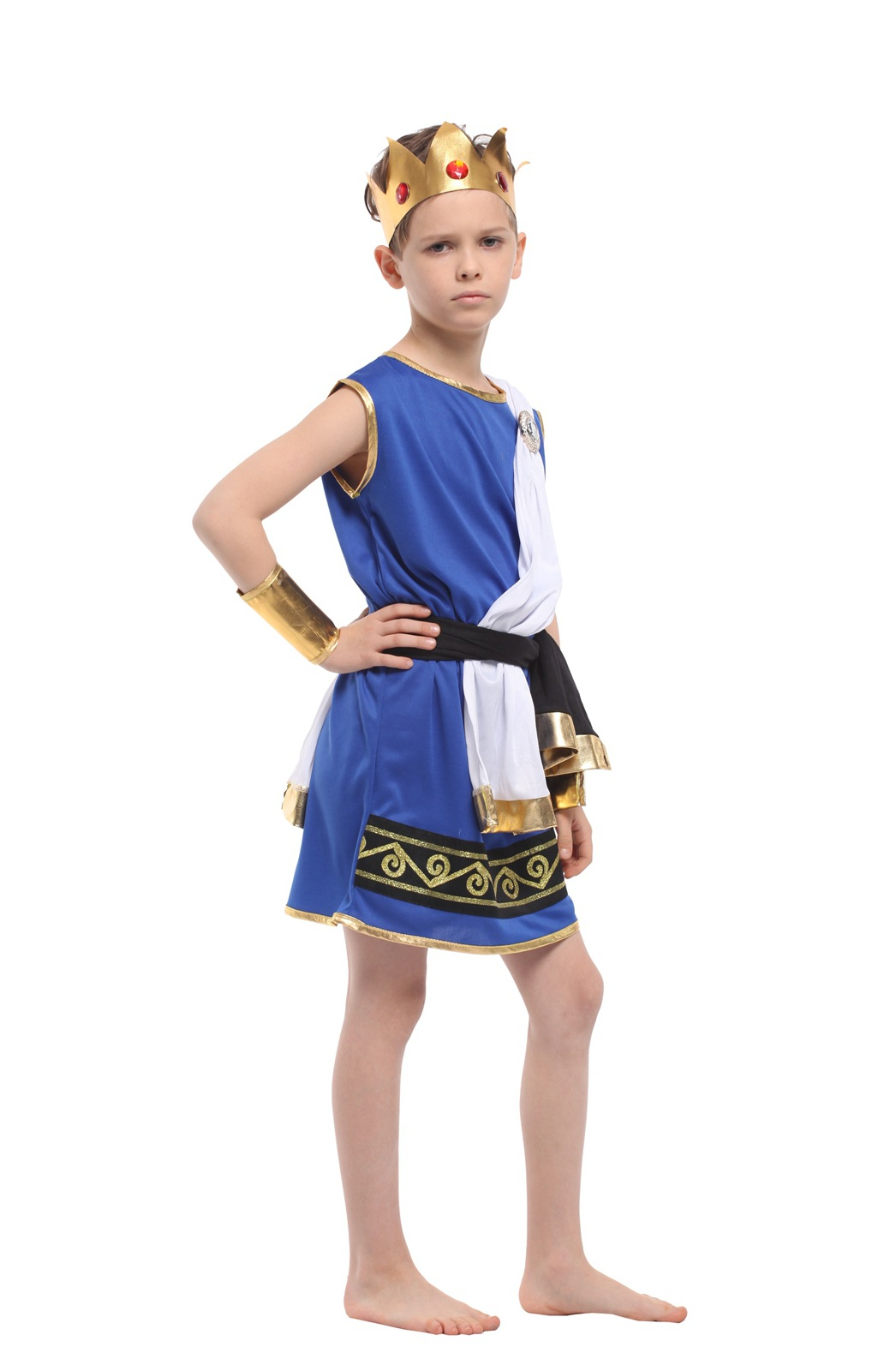 aliexpresscom buy kids halloween costume children egyptian uniform boy photography clothing zeus god uniforms boy role playing suit b 5156 from reliable - Egyptian Halloween Costumes For Kids